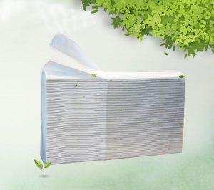 Рушник паперовий листовий Z-складання